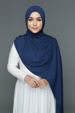 NN Basic Chiffon (Blueberry)
