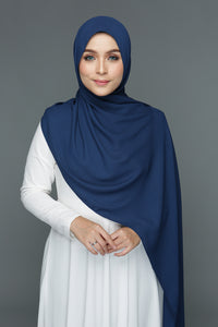 NN Basic Shawl (Blueberry)