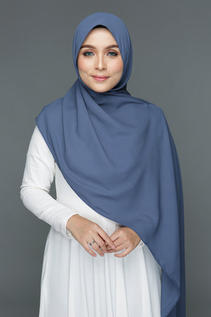 Basic Shawl (Midnight Blue)