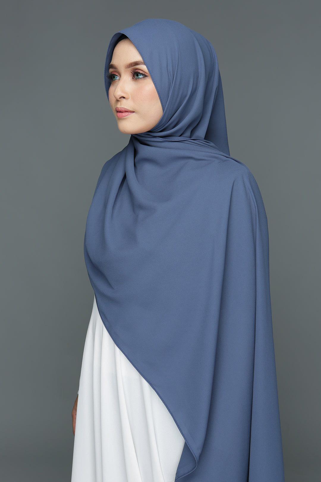 NN Basic Shawl (Midnight Blue)