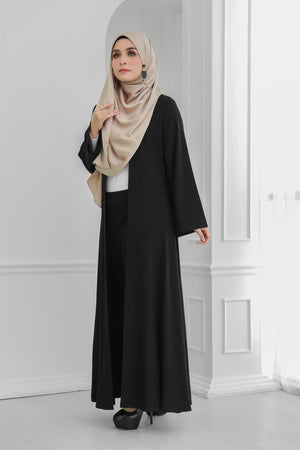 Long Wide Sleeves Cardi (Black)