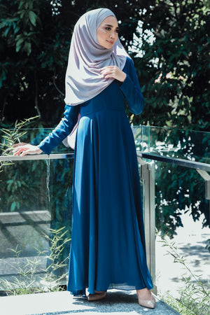 NN Basic Dress (Blueberry)
