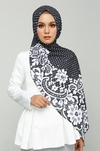 Printed Lace (Black)
