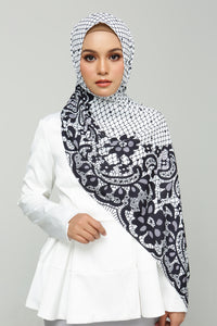Printed Lace (White)