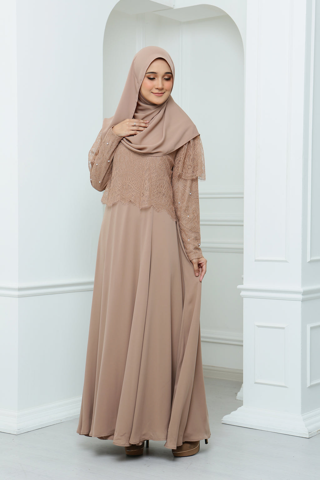 Mawara  Dress Adult (Nude)