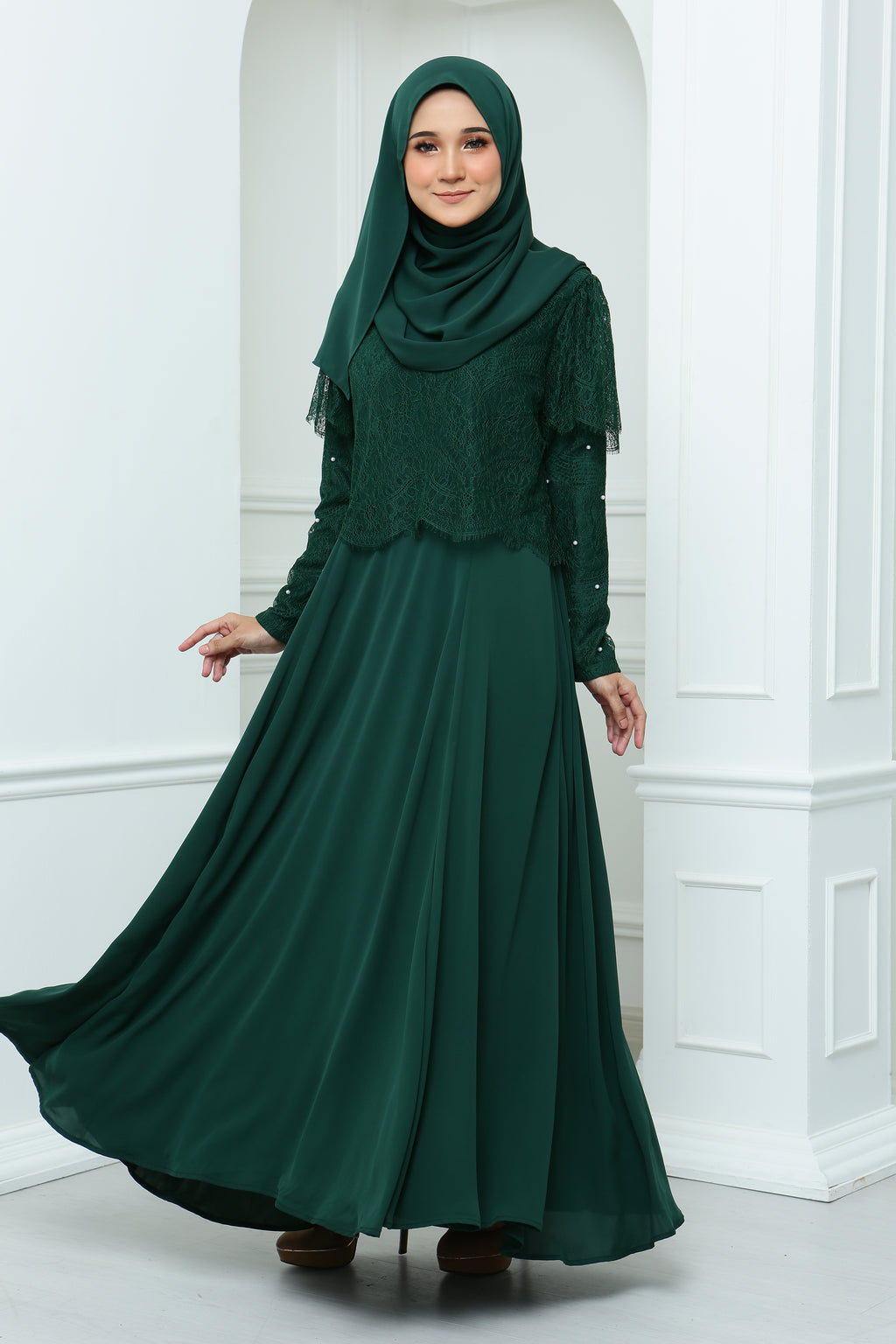 Mawara Dress Adult (Emerald)