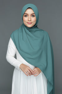 NN Basic Shawl (Eucalyptus Mint)