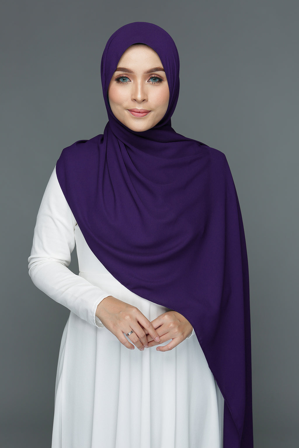 NN Basic Shawl (Raisin)