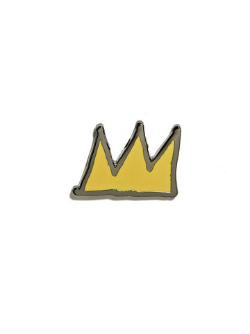 JEAN-MICHAEL BASQUIAT CROWN PIN