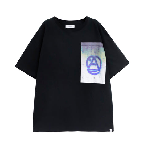 Face Logo T-shirt Black