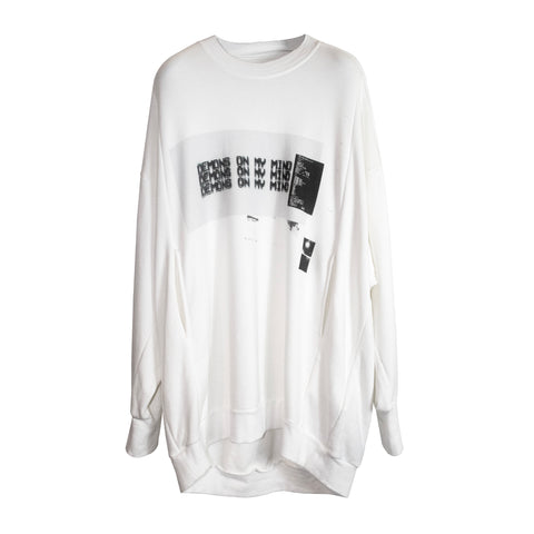 Demons Sweatshirt White