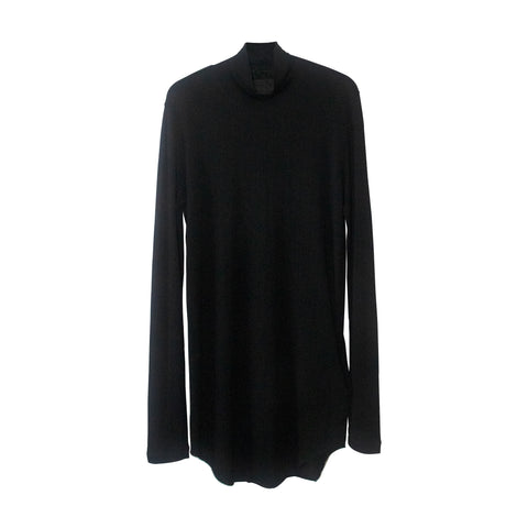 High Collar Long Sleeved Tee
