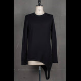 Asymmetric Long Sleeve Tee