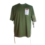 Green Loose T-shirt with Pocket