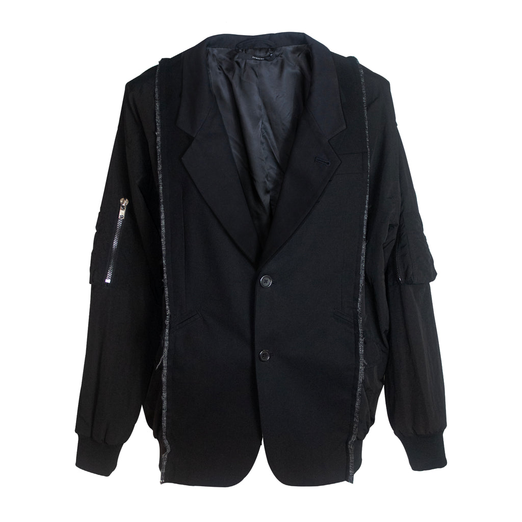 Two-In-One Tailored MA-1 Jacket