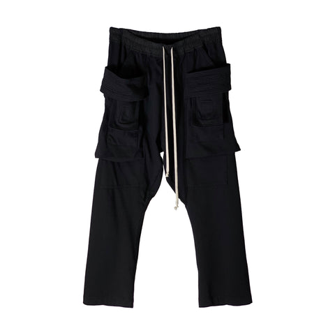 Creatch Cargo Cropped Drawstring Pants