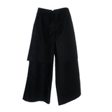 Black Layered Trouser
