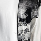 "E-WAX Collection "" Smelling the Future"" LS T-shirt"