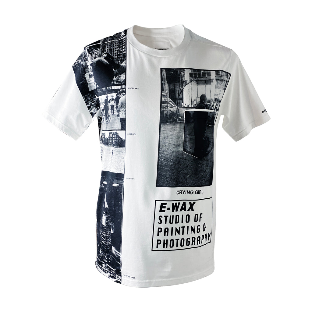 "E-WAX Collection ""Crying Girl"" T-shirt"
