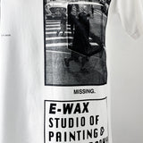 "E-WAX Colletion ""Missing"" T-shirt"