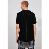Scar Stitching Slim Fit T-shirt