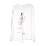 Two Hands Gallery LS T-shirt White