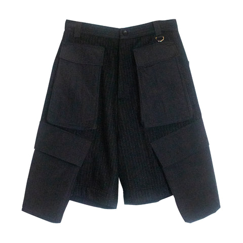 Six Pocket Shorts Black
