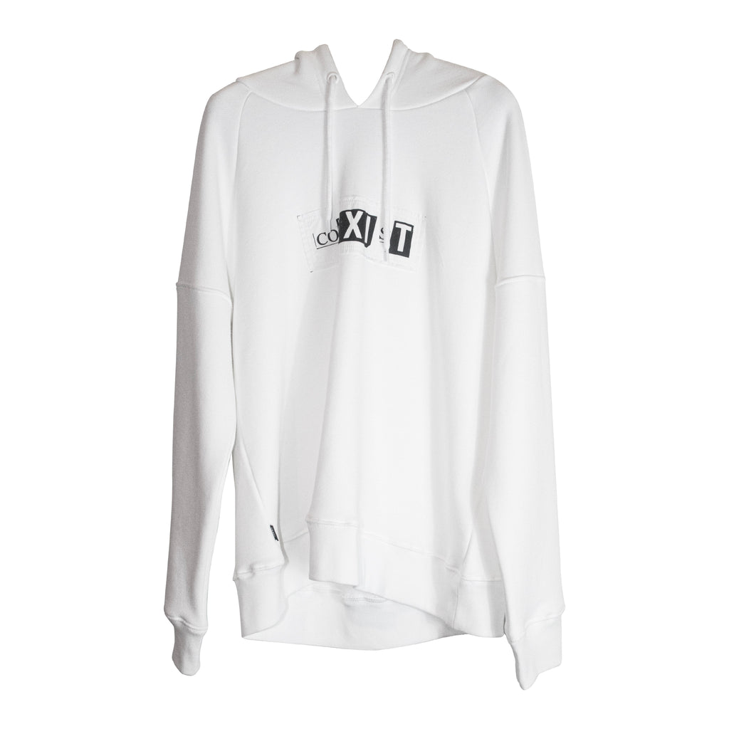 Co-Exit Hoodie White