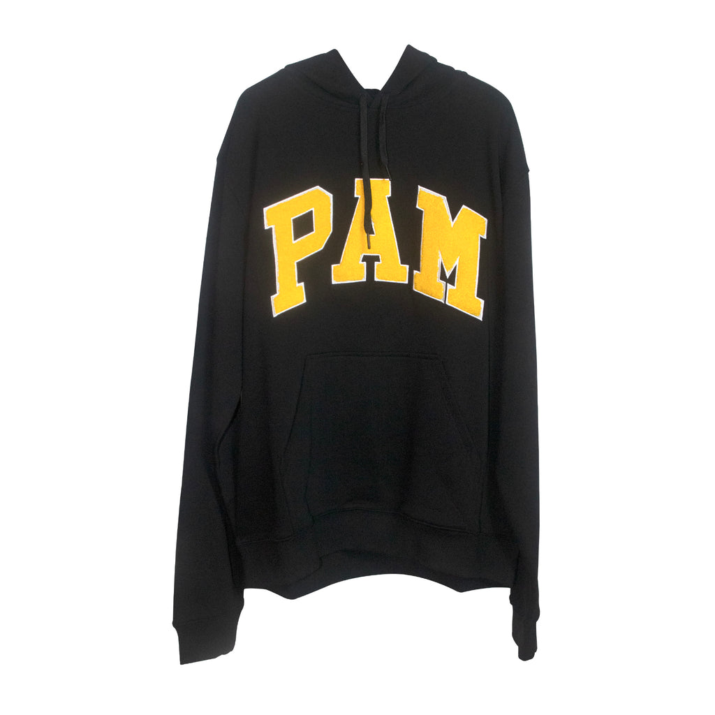 Mind The PAM Hooded Sweat Black