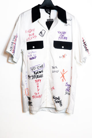 ALL OVER OVERSIZED VINTAGE BOWLING SHIRT