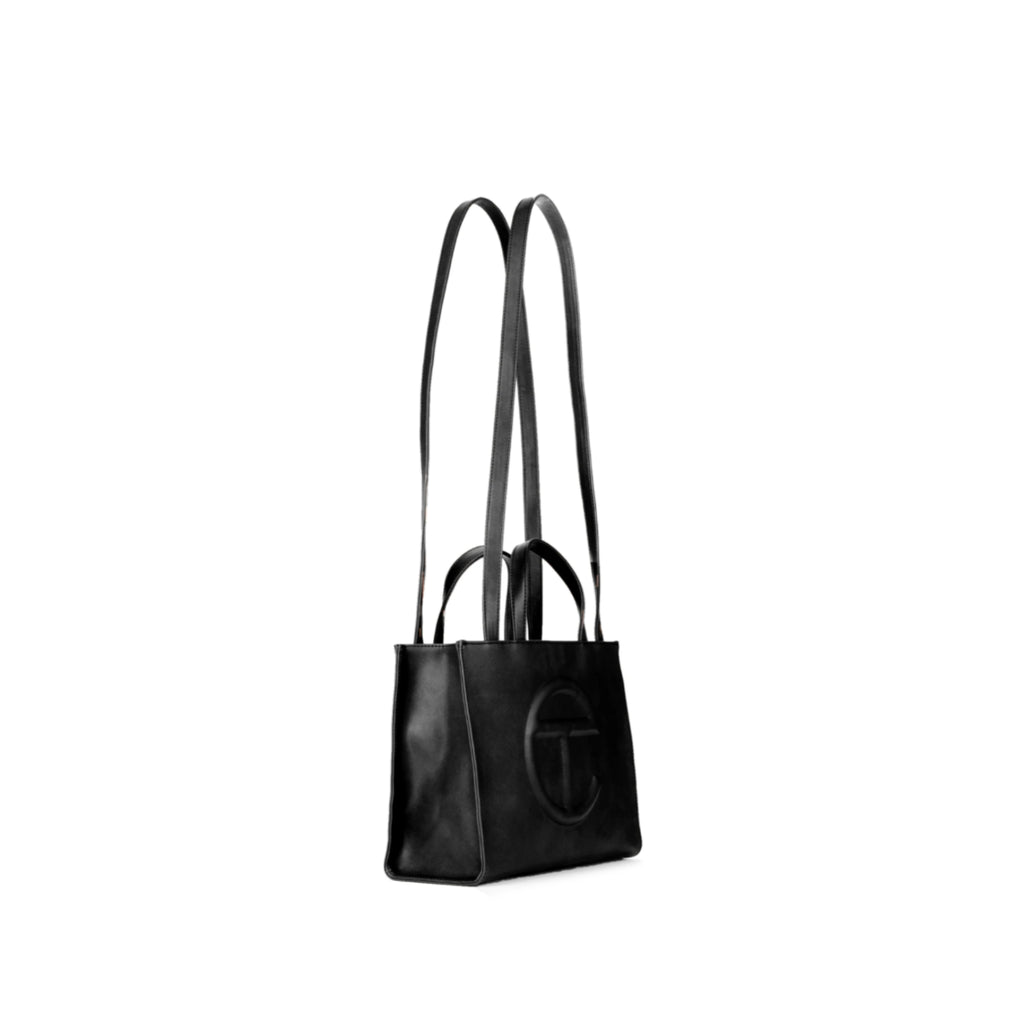 Medium Black Shopping Bag