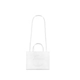 Medium White Shopping Bag