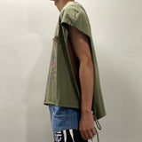 Wrap T-shirt Green