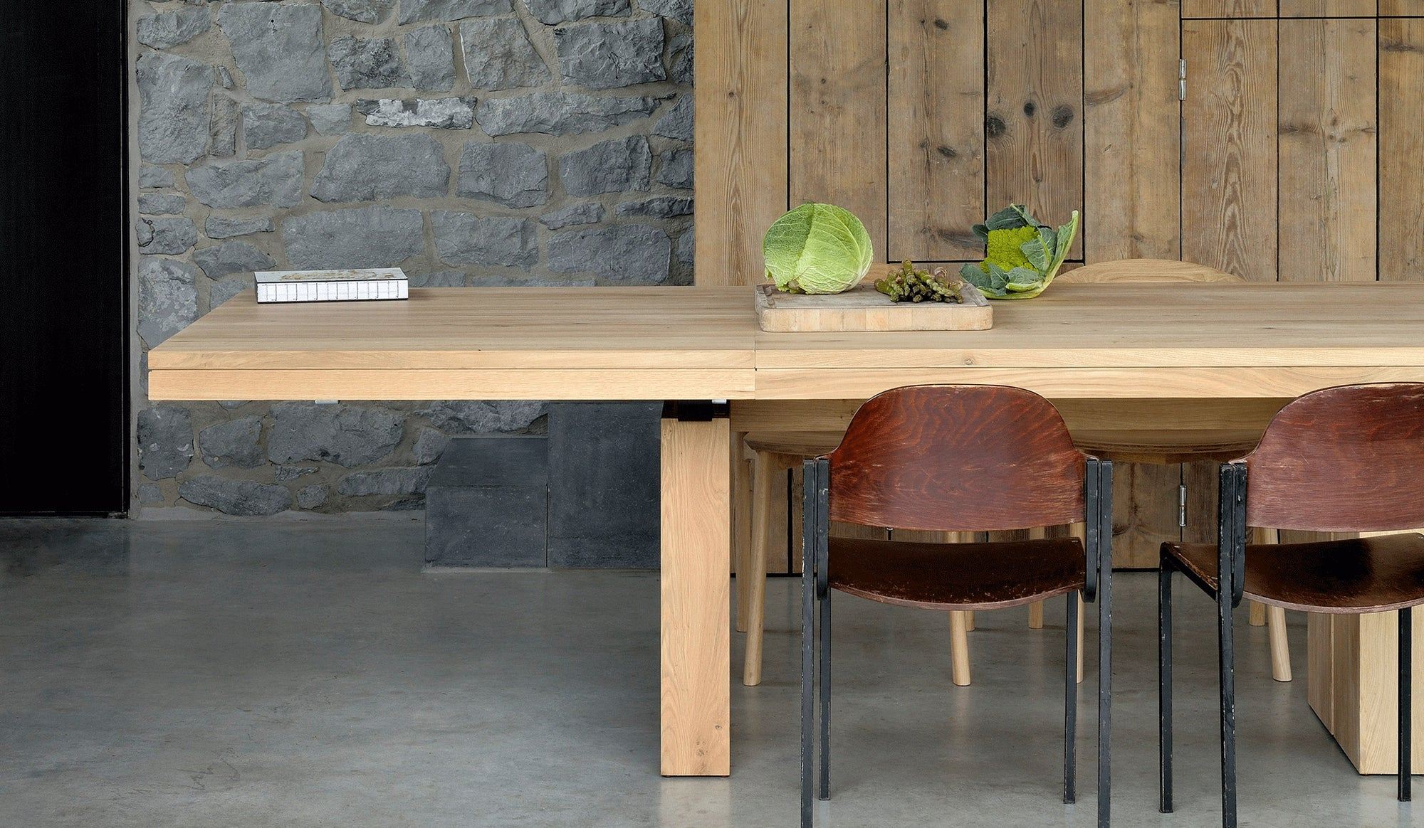 Double Extendable Dining Table Oopenspace
