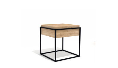 Ethnicraft Oak Monolit Side Table - Small
