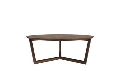 Tripod Walnut Coffee Table
