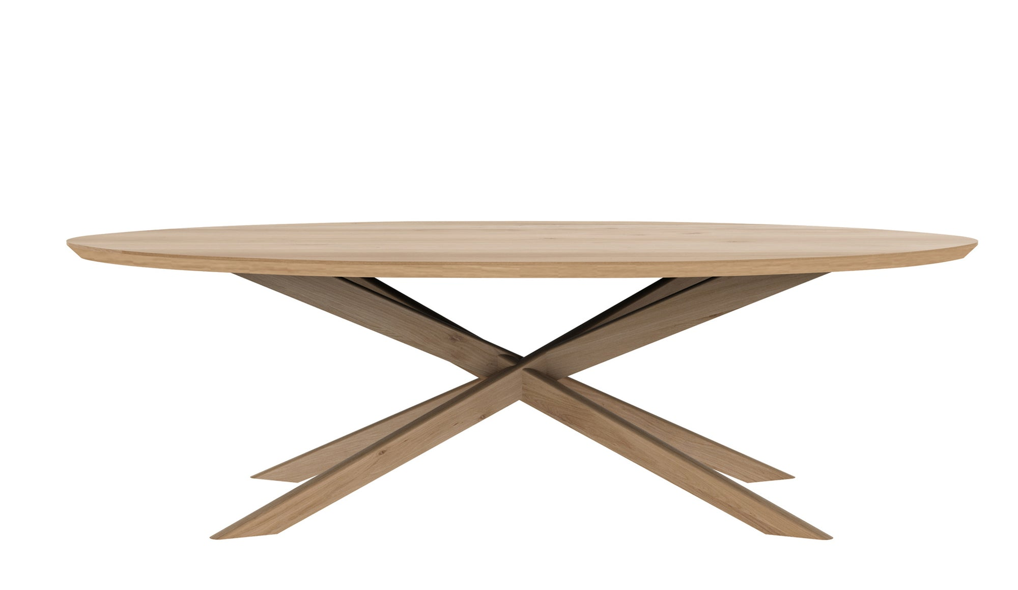 Mikado Oak Dining Table | Oval