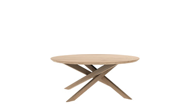 Mikado Oak Coffee Table | Round