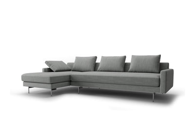 Edge Sofa | 3 Seater Left Chaise