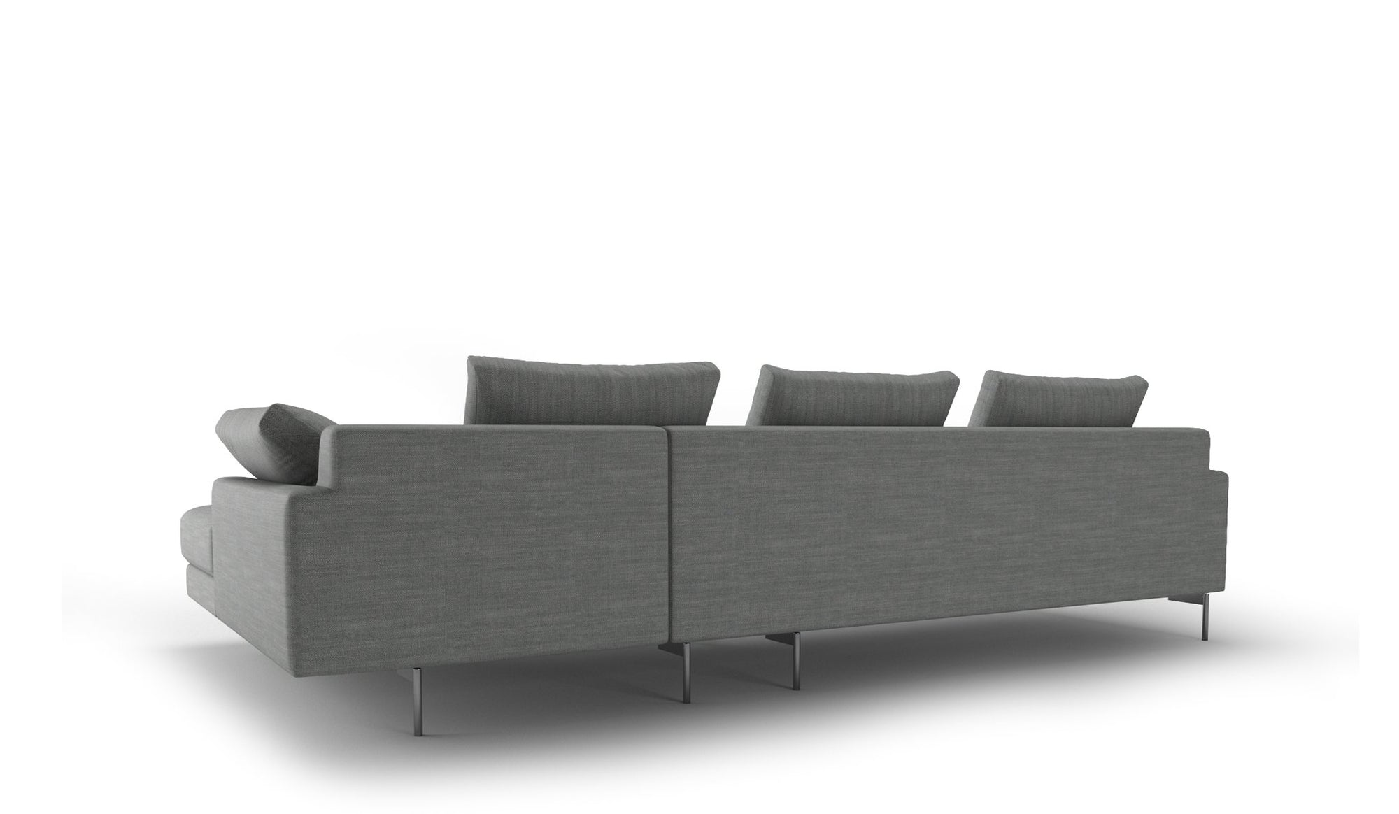 Edge Sofa | 3 Seater Right Chaise