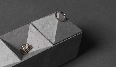 Bentu 'CV' Concrete Ornament