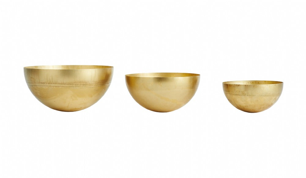 OYOY Brass Bowl - Large