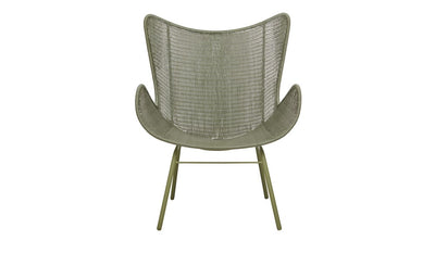 Mauritius Wing Closed Weave Occasional Chair