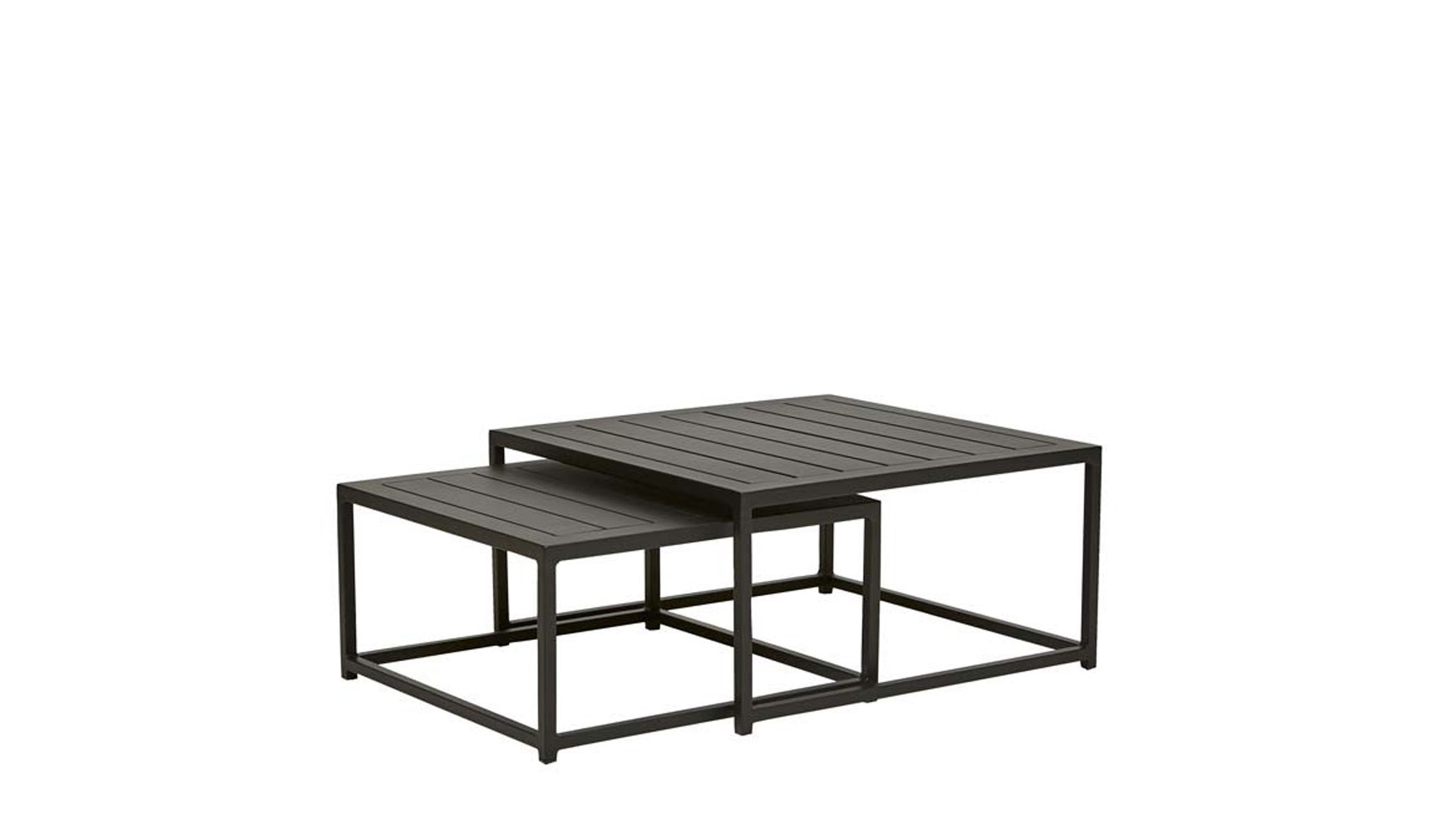 Aruba Square Nest of 2 Coffee Tables