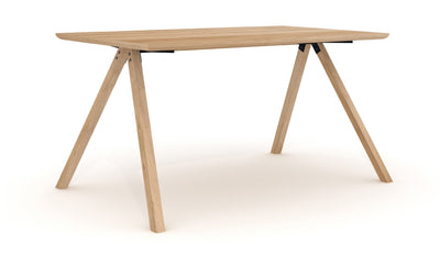 Ethnicraft Oak Flow Dining Table - Small