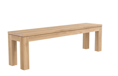 Ethnicraft Oak Straight Bench