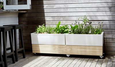 Glowpear Urban Garden Cafe Planter