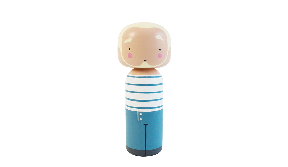 Jean Paul Kokeshi Doll