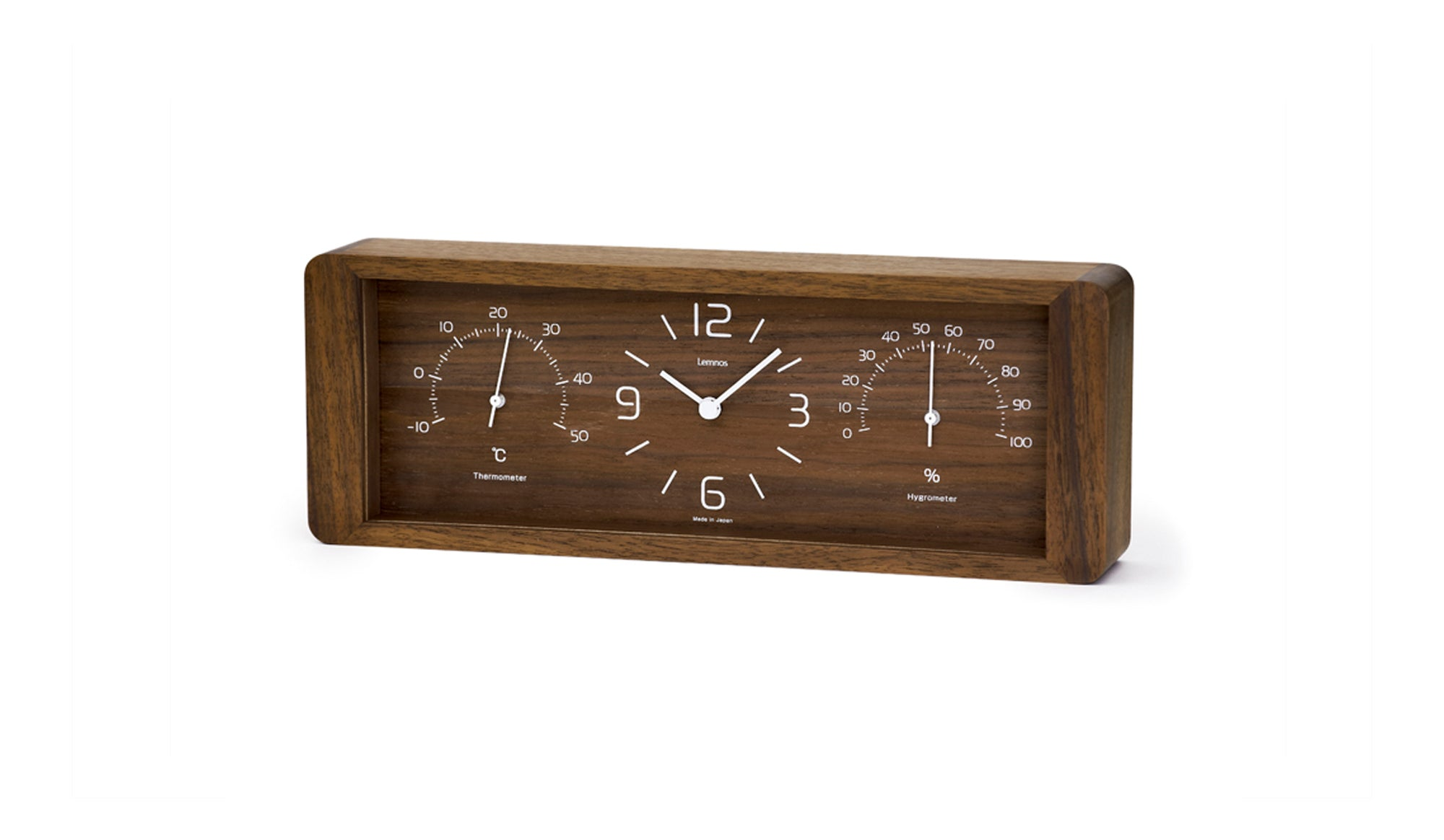 YOKAN Clock | Brown