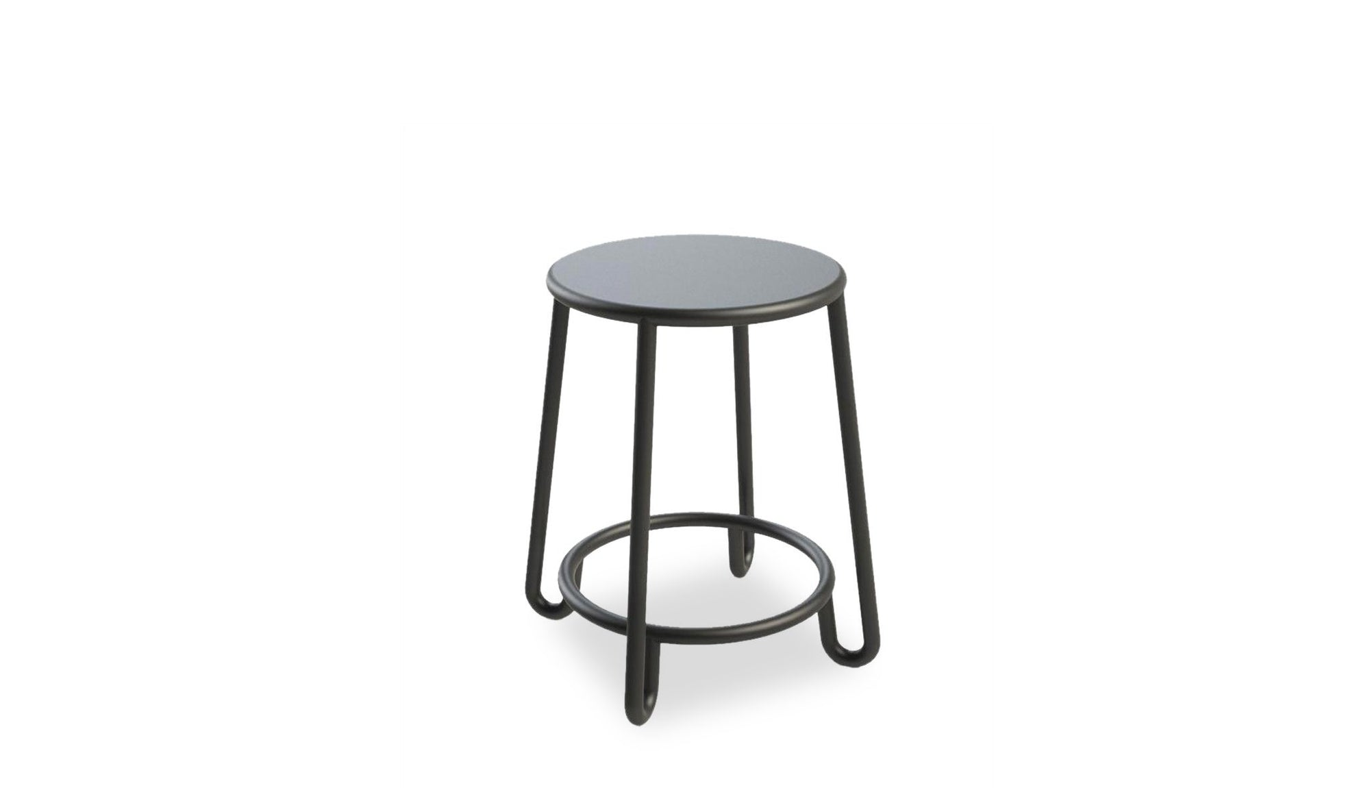 Huggy Outdoor Low Stool | H45